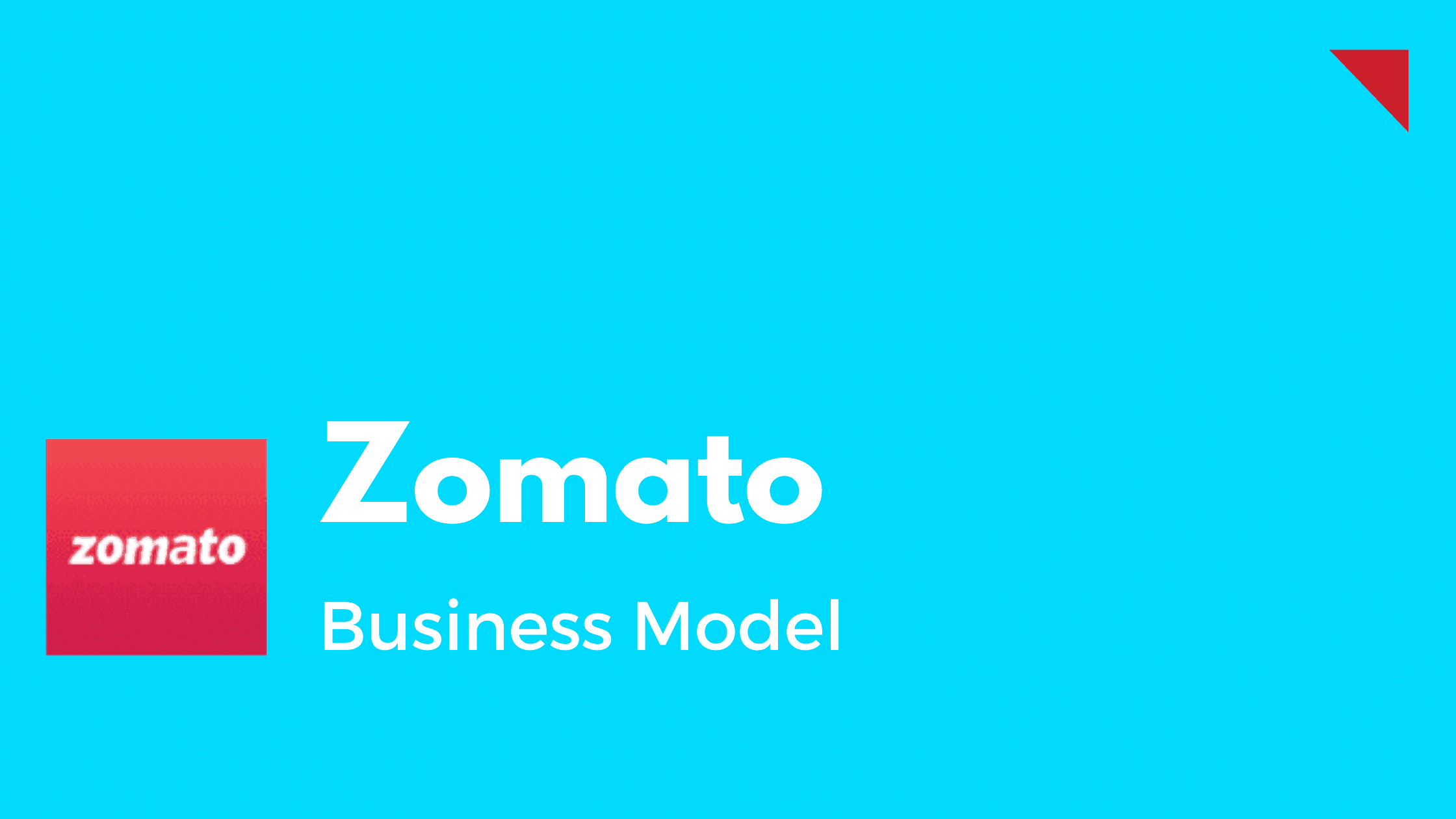 Zomato - Business Model - Featured Image